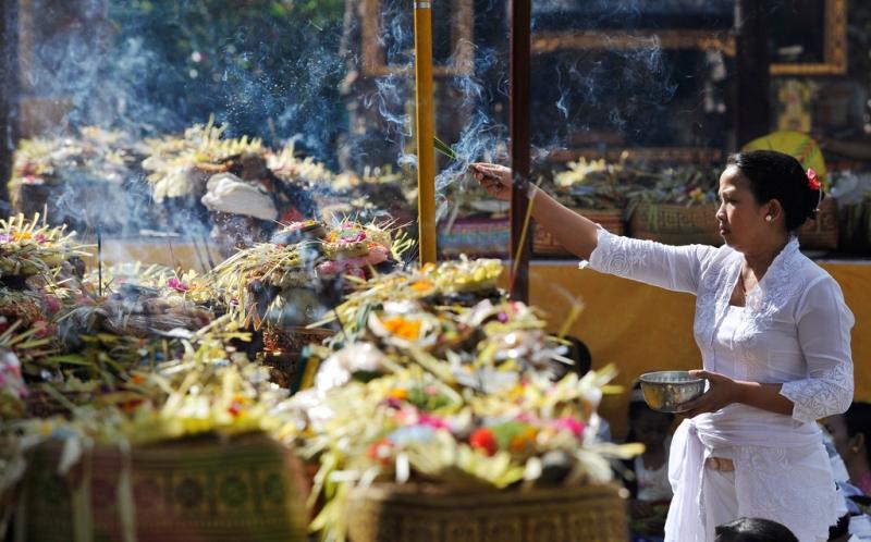 Sejarah Banten (Sesajen) di Bali