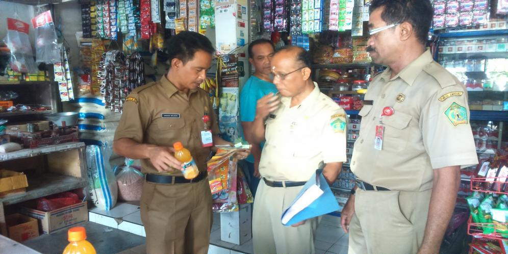 Makanan Kadaluarsa dan Obat Mengandung BKO Masih Beredar di Jembrana