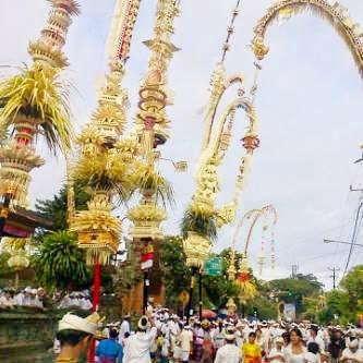Hari Raya Pagerwesi Didahului dengan Rainan Soma Ribek dan Sabuh Mas