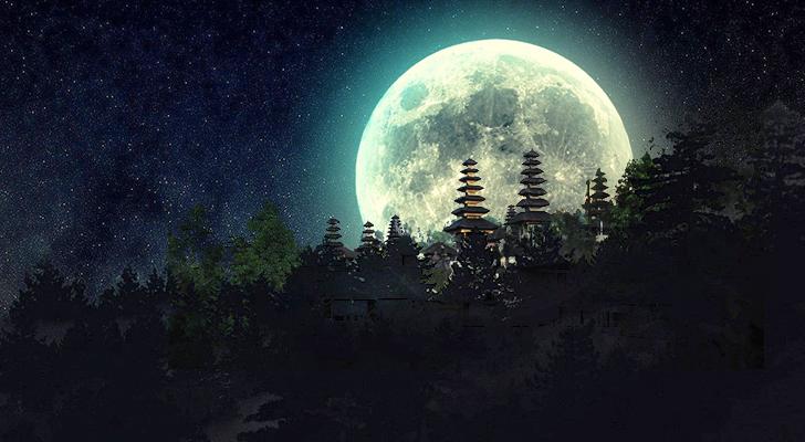 Rahasia di Balik Bulan Purnama