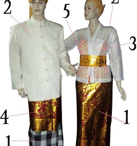 Hal Penting Dalam Busana Adat Bali