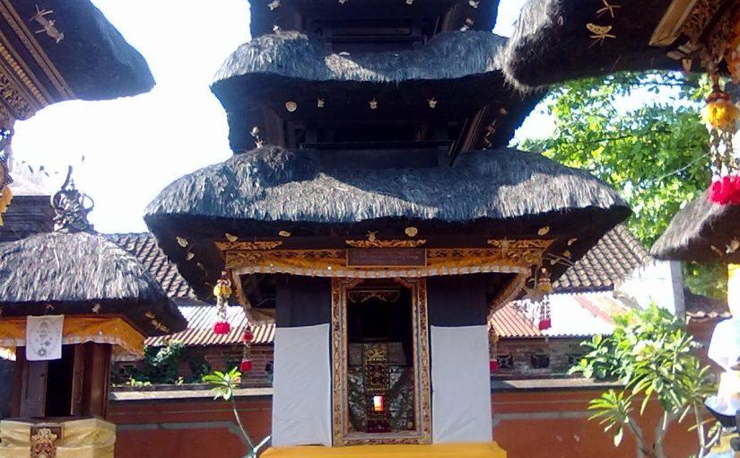 Pelinggih Meru Bhatara Kawitan
