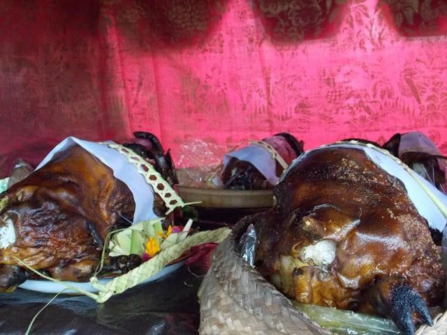 Sesangi, Berjanji Di Bali