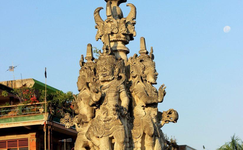 Sejarah Patung Kanda Pat Sari Klungkung