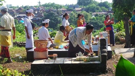 Banten Punjung, Sarana Komunikasi Dengan Leluhur
