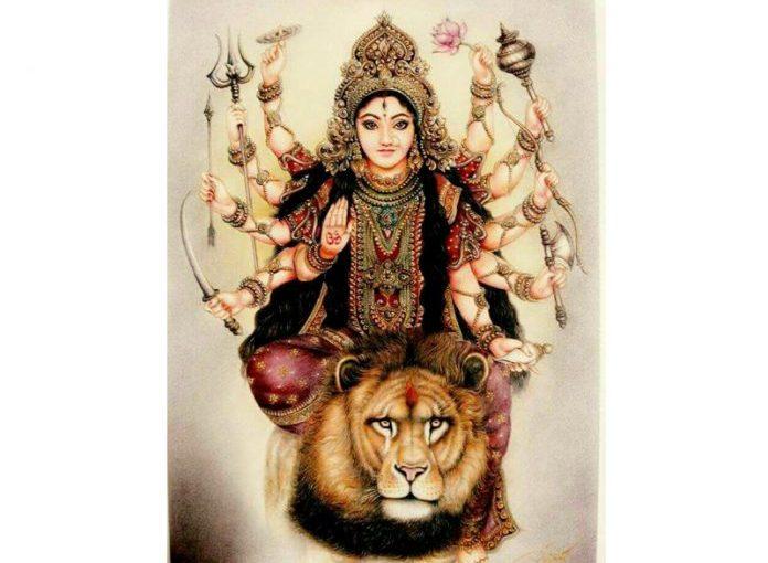 Sebelum Bharata Yuda, Arjuna Meminta Restu Dewi Durga