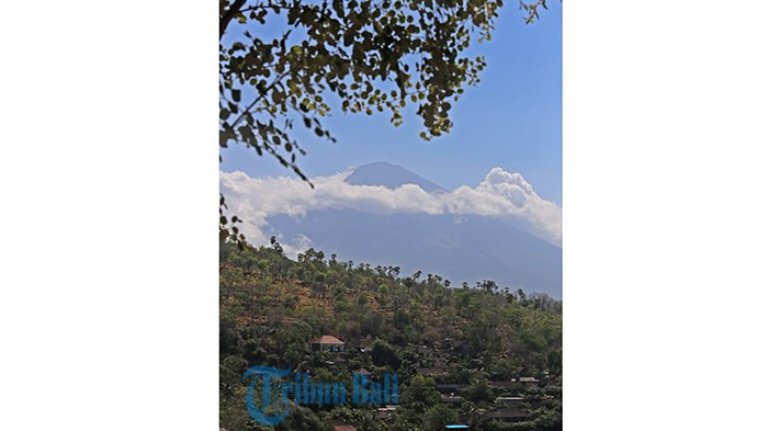 Rilis Terbaru Zona Bahaya Letusan Gunung Agung, Bungaya Kangin Masuk Kawasan Rawan