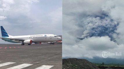 BREAKING NEWS: Penutupan Bandara Ngurah Rai Diperpanjang, Abu Vulkanik Terdeteksi Hingga Jember