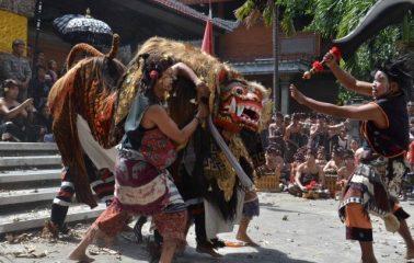 Ngelawang, Diadopsi dari Tradisi Sirkus China, Ini Sejarahnya