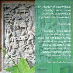 MEMOHON AMPUN ADALAH TANDA TUMBUHNYA KESADARAN